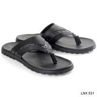 Harga lnx 531 sandal lebaran fashion pria branded blackkelly 2018 | Hargalu.com