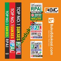 Paket HEMAT Buku 3 in 1 TOP NO. 1 SUKSES RPAI, RPAL, RPUL SD