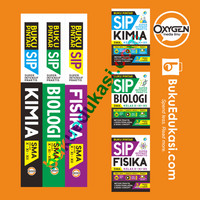 Paket HEMAT Buku 3 in 1 PINTAR SIP FISIKA, BIOLOGI, KIMIA SMA