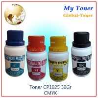 SERBUK TONER + CHIP warna laser PRINTER CP1025 / CE310A / CE311A