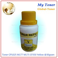 SERBUK TONER + CHIP warna laser PRINTER CP1025 / cp 1025 color
