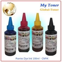 TINTA DYE INK KOREA COMPATIBLE REFILL PRINTER HP 100ML KERUCUT CAIR