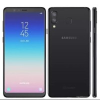 Samsung Galaxy A8 Star G885F Black dan White Garansi Resmi
