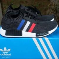 Adidas NMD R1 Primeknit Premium Sepatu Casual Sneakers Kuliah Man Pria 5fd49bdd97