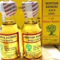 Minyak Kemiri Asli Cap Pohon Kemiri 29ml Perawatan Kesehatan Rambut