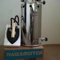 Setrika Uap Boiler Gas Nagamoto 15 Liter kompor otomatis