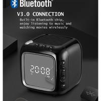 ROBOT Speaker Bluetooth With Clock Jam Digital Bluetoth Speaker RB530