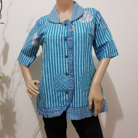 Blouse batik cewek harga termurah / blouse kantoran /blouse kantor
