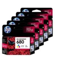 Cartridge Tinta HP 680 Color Printer 1115 1118 2135 3635 4675 Original