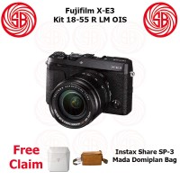 Harga kamera fujifilm x e3 kit 18 55 camera fuji xe 3 mirrorless xe3 | Pembandingharga.com