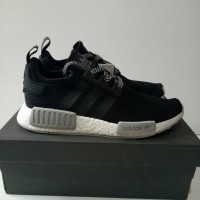 7d9e03562 Adidas NMD R1 Consortium Reflective Black Perfect Kick Qality