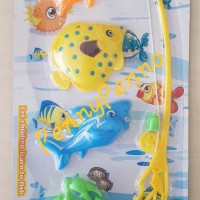 Mainan Pancingan Ikan isi 4 Fishing Fish murah