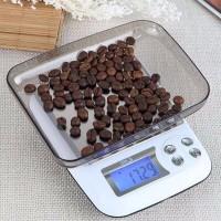 Timbangan Digital 3kg Akurasi 1 gram bisa Adaptor Serbaguna Dapur