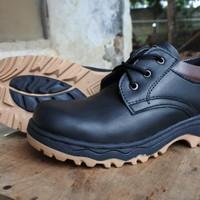safety shoes pendek by sportex - Hitam, 39