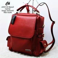 TERMURAH s000148 ransel laptop tas wanita tas batam tas import