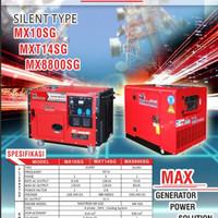 Genset silent maxtron 10 kva 3 phase