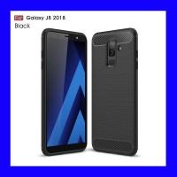 Samsung Galaxy J8 2018 - Armor Carbon TPU Soft Case Casing Cover