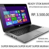Laptop Notebook mulus seken i5 4300U hp Elitebook 840 nb340