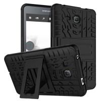 Case Rugged Samsung Galaxy Tab A 7 T280 /Soft Hard Stand Dual Armor