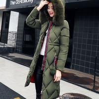 Jacket Jaket Parka Coat Tebal Wool Bulu Untuk Winter Salju Pria Wanita
