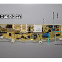 Modul Pcb Mesin Cuci Samsung WA75B/4888-05 dengan 6 tombol pengaturan