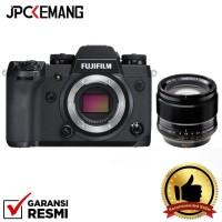 Harga fujifilm xh1 x h1 body xf 56mm f 1 2 r apd garansi | Pembandingharga.com