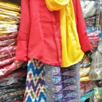 Baju adat betawi // setelan // kebaya none betawi size L