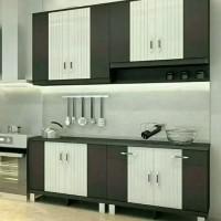 kitchen set atas bawah 4 pintu panjang 158cm