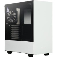 NZXT H500 Matte White SECC Steel and Tempered Glass ATX Mid Tower
