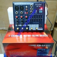 MIXER AUDIO HUZLER 4G 6 CxxNEL MURAH DAN NEW