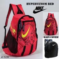 Harga promo tas sekolah pria sport tas ransel nike hypervenom merah free | Pembandingharga.com