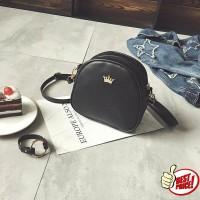 tas pundak mahkota / fashion crown small shoulder bag (1E5) bta320