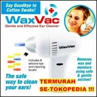 WAXVAC ear cleaner vacuum pembersih kotoran telinga elektrik - BRM005