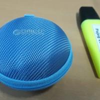 ORICO Portabel Case Protective Pengaman tempat Earphone Kabel USB Powe