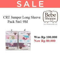 CRT Jumper Long Sleeve Pack 5in1 9M