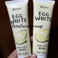 [ HANASUI ] Masker Telur/Egg Peel Off Mask