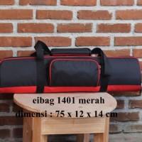NEW Tas TRIPOD Panjang 75 cm hitam merah
