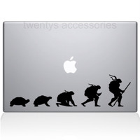 NINJA TURTLE EVOLUTION MACBOOK DECAL