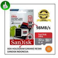 Memory Card Micro Sd SanDisk Ultra 32 Gb Class 10 / Ori 32gb 80 MB/s