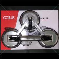 Kop Kaca Merk: Ocius- 3 Suction Plate (Glass Suction Lifter)