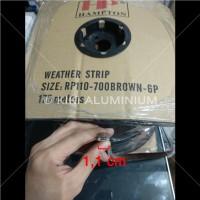 Mohair Bulu u/ Pintu - Lebar 1,1 cm - Merk: REDDIPILE/DEKKSON/HAMPTON