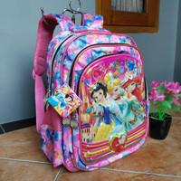 Tas ransel anak tk/paud princess pink import by Alto