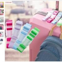 Trolley Suitcase Luggage Hanger Strap Button Buckle Belt Bag Part