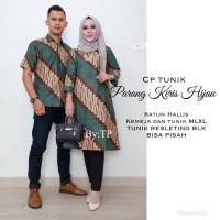Jual Batik sarimbit cp tunik parang keris Murah