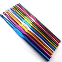 Jarum Rajut/Hakpen/Crochet Hook Aluminium Satuan