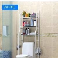 X90 Rak Toilet Organizer WC Tissue Sabun Kloset Kamar Mandi MegaHome