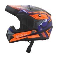 Cargloss MXC Pro Racing Helm Motocross - Deep Black