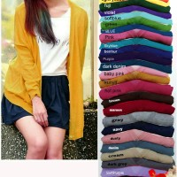 Cardigan Rajut Bigsize Fit To XXL Kode A20004