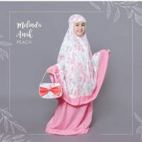 Mukena Bali Anak Sakura