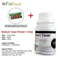Serbuk Toner Refill HP CP1025 + CHIP CE310A CE311A CE312A CE313A